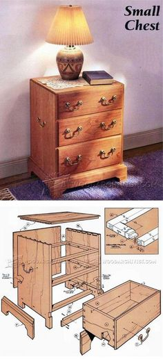 Small Chest Plans - Furniture Plans and Projects | WoodArchivist.com