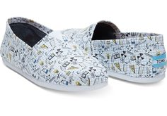 Get scientific with this TOMS Exclusive Classic Alpargata. Featuring a chemistry-inspired design and more cushion than ever, you'll want to build your outfit from the shoes up.
