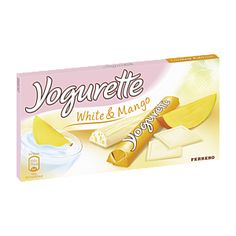 Yogurette White & Mango haven't tried these but it looks yummy