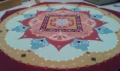 ♥ 7 - 45cm - Mandala Disponível para pronta entrega