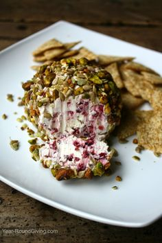 Harvest Cheese Ball. The perfect holiday appetizer.