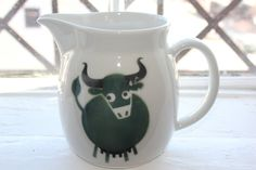 Heluna Milk pitcher by Wartsila Arabia Finland by FinnishTreasures, $140.00
