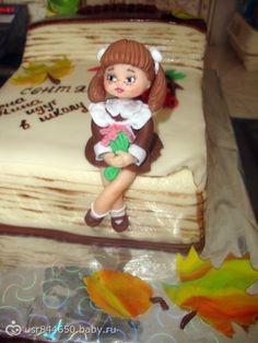 Торт к 1 сентября.