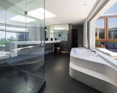 Jacobson Residence   Merit Award, Bathroom Remodel over $100,000  Margaret Griffin, Griffin Enright Architects Frank Abate, Frank Abate Construction Inc.  2016 Remodeling Design Awards