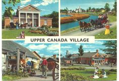CDN-Postcard-Morrisburg-ON-Upper-Canada-Village