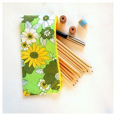 Handmade Vibeke pencilcase.