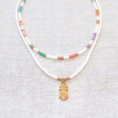 Seed Bead Jewelry, Bead Jewellery, Cute Jewelry, Beaded Jewelry, Beaded Bracelets, Unique Jewelry, Diy Friendship Bracelets Patterns, Bracelet Patterns, Summer Bracelets