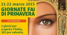 23° EDIZIONE GIORNATE FAI DI PRIMAVERA – 21-22 MARZO 2015