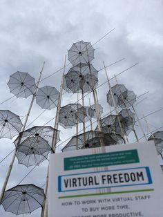 Ilias from Paralia in Thessaloniki, Greece! Love this umbrella sculpture. Thanks, man!!!