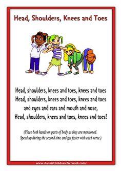 Head Shoulders Knees And Toes