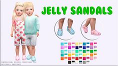 Jelly Sandals at Victor Miguel • Sims 4 Updates