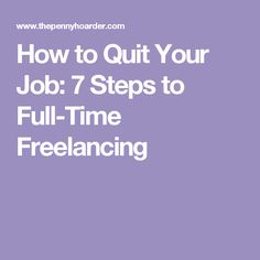 How To Know When ItS Time To Quit Your Job