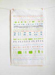 Tea towels give just the right nostalgic nod. #PipLincolne