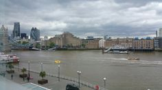 View of Tower Bridge (to your left), from Design Museum, Shad Thames, London