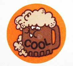 """Root Beer """"Cool"""" Scratch and Sniff"""