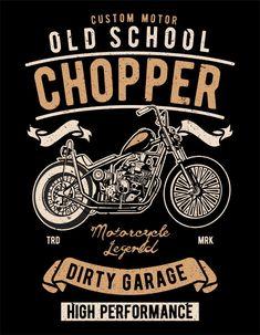 Descubre miles de vectores Premium disponibles en formato AI y EPS Vintage Designs, Retro Vintage, American Logo, Old School Chopper, Motorcycle Logo, Garage Art, Lion Art, Boys T Shirts, Logo Inspiration
