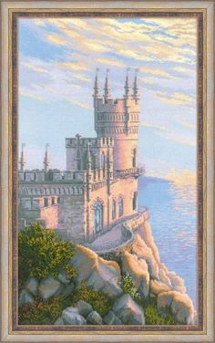 Набор для вышивания Риолис 1645 Ласточкино гнездо