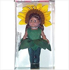 This 2001 Sunflower Modern Ginny doll is Item 78931558 on Ebid where she is $46.00 fixed price plus shipping. She is new and mint-in-the-box old stock.