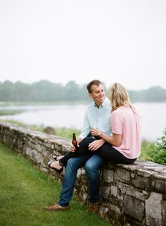 Door County, WI Engagement photos by The McCartneys Photography, as seen on Style Me Pretty