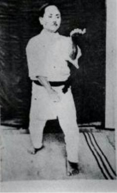 Gichin Funakoshi the father of modern day Karate