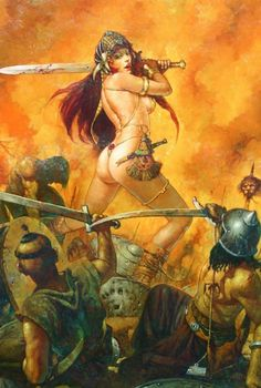 Conan Barbarian Illustration