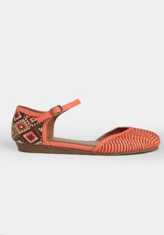 Journey to the Desert Ankle Strap Flats