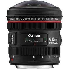 Canon 8-15 f/4L fisheye $1499