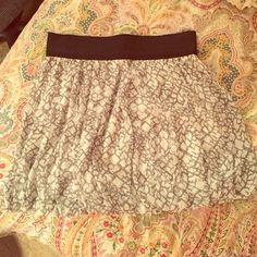 Forever 21 bubble skirt Elastic waist. Super comfy! Forever 21 Skirts