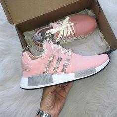 imagenes de zapatos adidas dama rosa largo