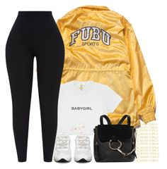"""""""On my Mind"""" by xbad-gyalx ❤ liked on Polyvore featuring FUBU, Chloé and Forever 21"""