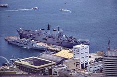HMS Tamar.  (veryamateurish, via Flickr) History Of Hong Kong, Navy Exchange, British Hong Kong, Navy Day, Great Run, Royal Navy, The Good Old Days, Newcastle, Old Photos