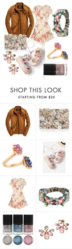 """""""Florals💅💐"""" by p0llyinurpocket ❤ liked on Polyvore featuring Superdry, Accessorize, Bayco, Zimmermann, Gucci and Marchesa"""