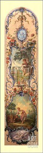 Rustic Pursuits IV Art Print by Francois Boucher at Art.com