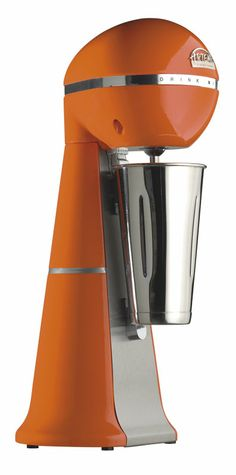A-2001 Orange Colour Drink Mixer with inox cup