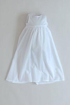 Hvid underkjole til dåbskjolen fra Oli Prik