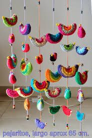 Image result for crochet colgantes moviles
