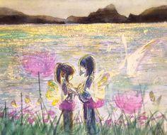 Sen to chihiro no monogatati .         http://blogs.yahoo.co.jp/ogino_toratora22_milkyway