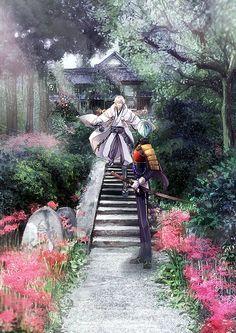 Wait for me Chibi Boy, Anime Chibi, Kawaii Anime, Manga Anime, Anime Art, Touken Ranbu, Katana, Anime Sword, China Art
