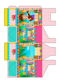 Party In A Box, Luau, Household, Kids Rugs, Templates, Zombies, Rose, Pink Flamingo Party, Explosion Box