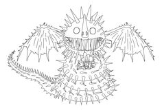 How To Train Your Dragon Coloring Pages Zippleback Dragon trainer
