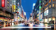The Endless Night Streets of Tokyo by Stuck in Customs, via Flickr