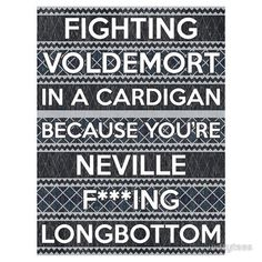 I got drunk one night and renamed this cute guy in my phone Neville Longbottom. I don't know why...