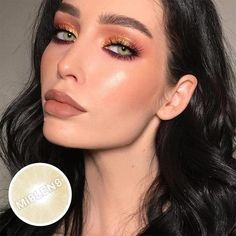 Prescription – beacolors Best Colored Contacts, Grey Contacts, Color Contacts, Grey Yellow, Brown And Grey, Gray, Change Your Eye Color, Soft Contact Lenses, Fantasy Make Up
