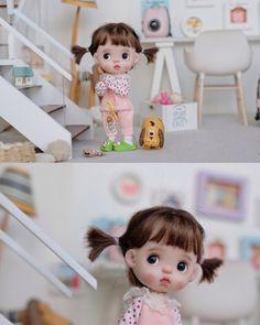 Cartoon Girl Images, Girl Cartoon, Tiny Dolls, Cute Dolls, Star Wallpaper, Baby Art, Barbie World, Girls Image, Blythe Dolls