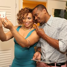 2015 - Tisha Campbell and Duane Martin Show Us What Being Happily Married for 20…
