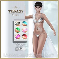 Lingerie TD Vania with Appliers - FATPACK