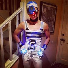 """This year for Halloween I decided to go as a character whose sex appeal is always ignored…I'm Sexy R2D2!"" 