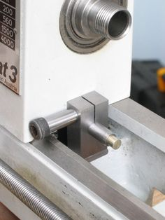 Adjustable carriage stop for lathe