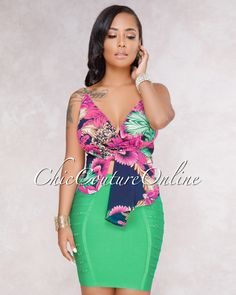 Chic Couture Online - Fabricia Black Purple Floral Print Knot Crop Top, (http://www.chiccoutureonline.com/fabricia-black-purple-floral-print-knot-crop-top/)
