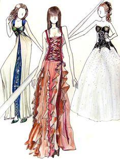Dresses 2 by *karmaela on deviantART